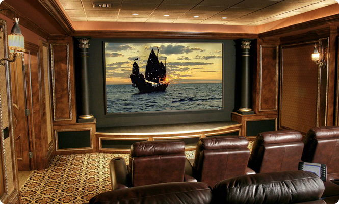 Dedicated Custom Home Theater System, Integration Solution NJ, NY, CT